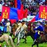 Naadam: hesteprosesjon 1 © KinaReiser as